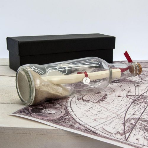 Luxury Message in a Bottle